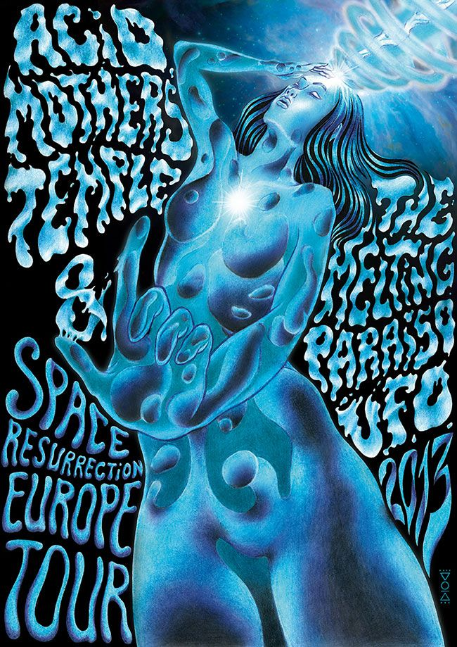 Anastasia-Karelia-Acid-Mothers-Temple-Europe-Tour-Poster