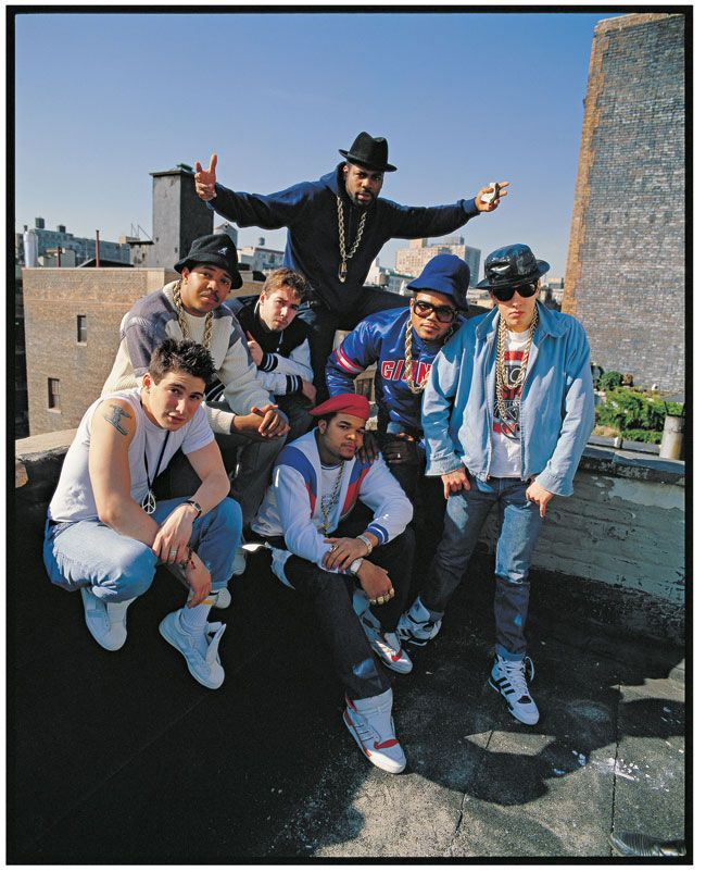 Run-DMC y Beastie Boys, New York City, 1988