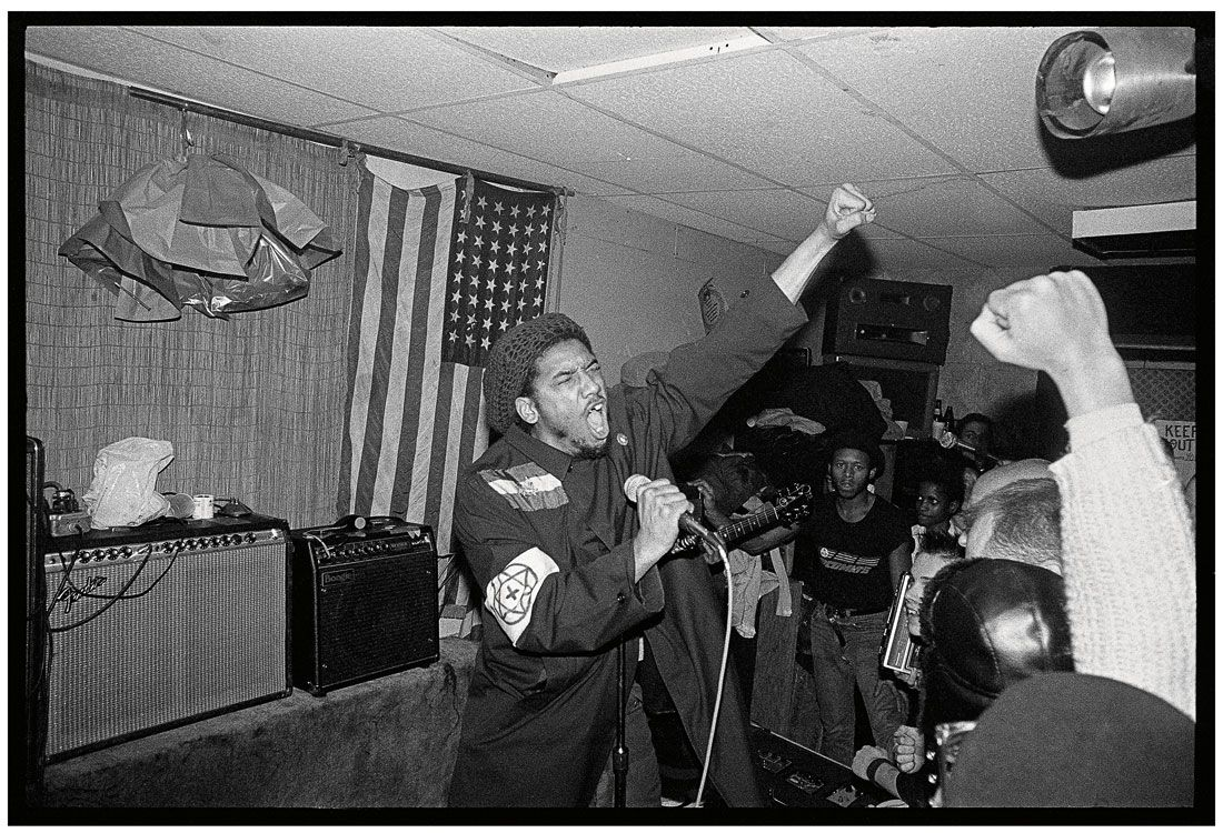 HR de Bad Brains, New York City 1982.