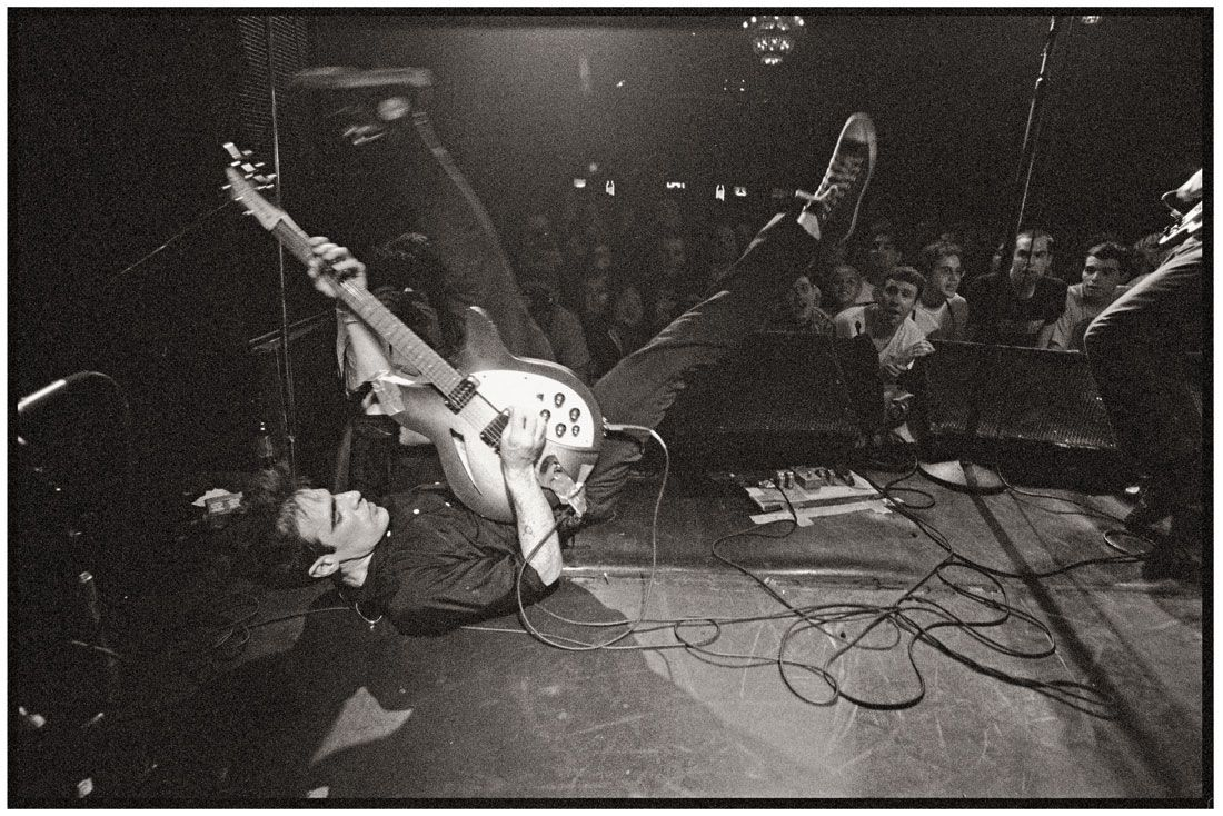 Guy Picciotto de Fugazi, New York City, 1994