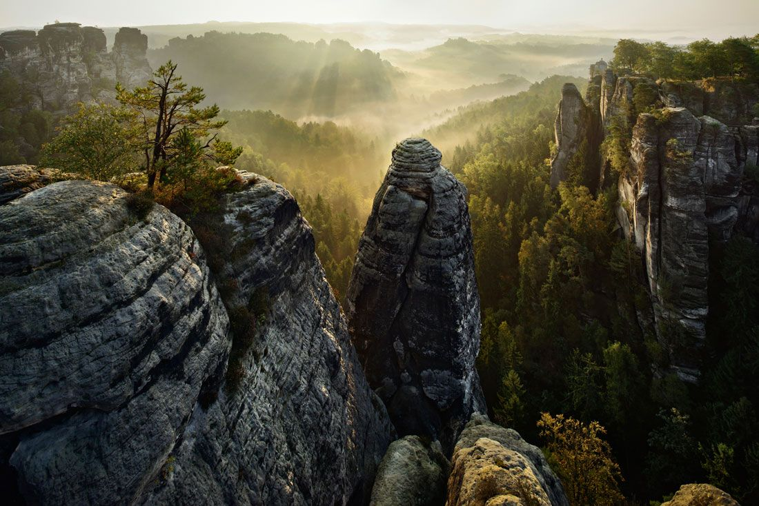 Kilian Schönberger: Saxon Switzerland National Park, Germany