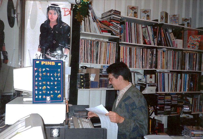 La tienda en los años 90