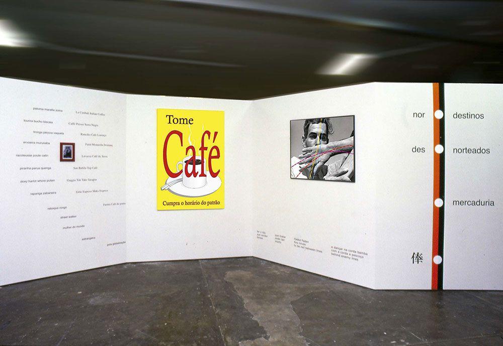 """""""Astilhãografo"""". XXV Bienal Internacional de Arte, São Paulo, 2002"""