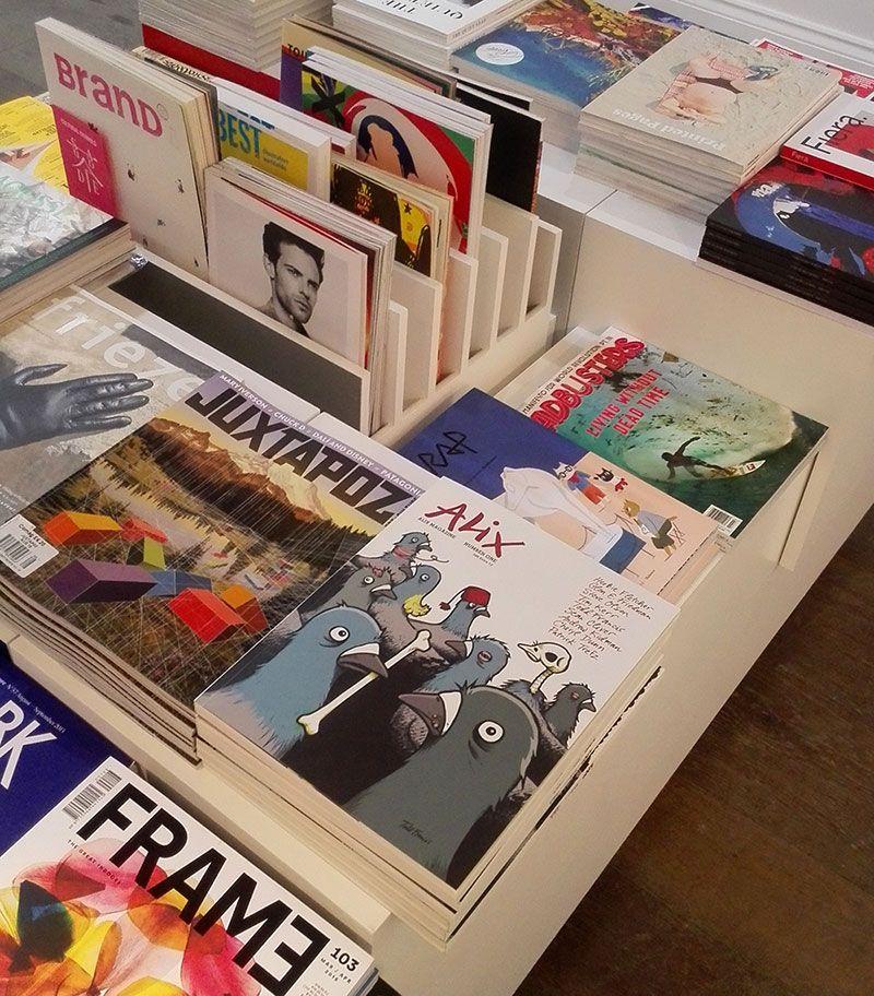 Alix esta disponible en la libreria Magma de Londres