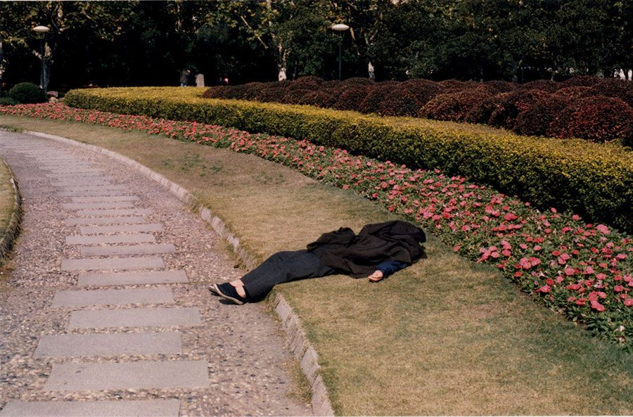 Sleeping Body, Beijing, China