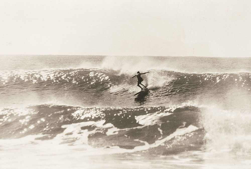 Nat at Collaroy 1961