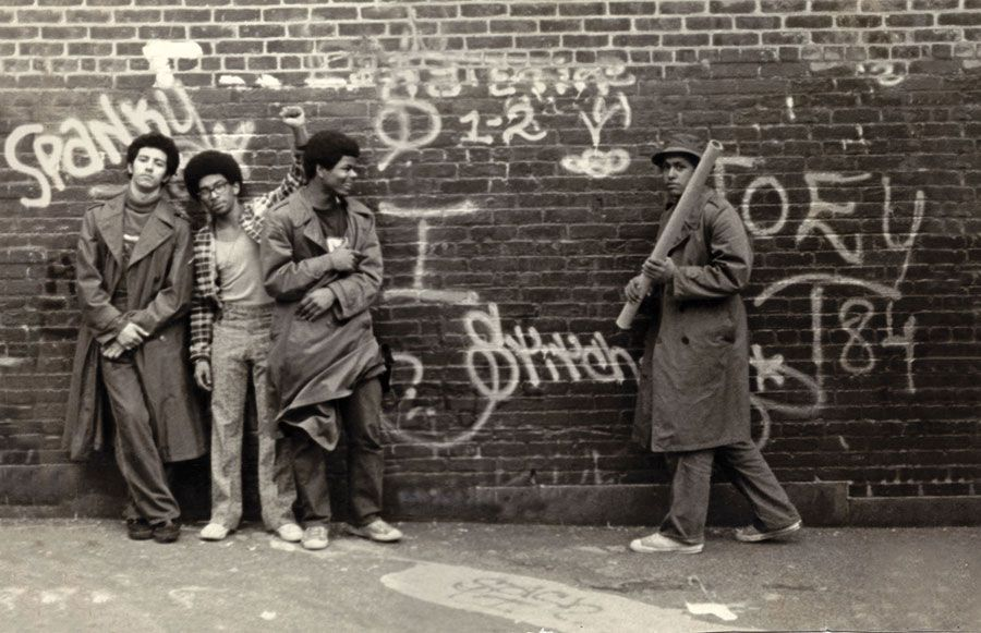 SNAKE 1, STATIC 5, FLASH 191 y STITCH 1 PS 189 school, Washington Heights, New York. 1973