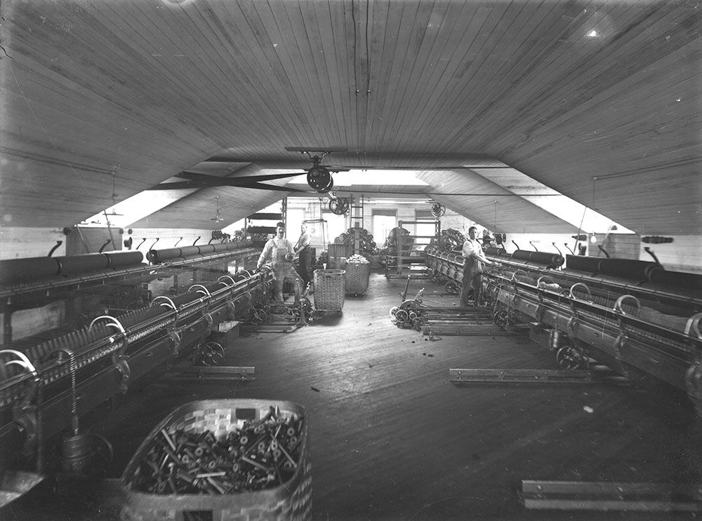 Spinning Room – Pendleton, Oregon Mill - 1909