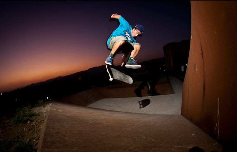 Campi. Flip to fakie