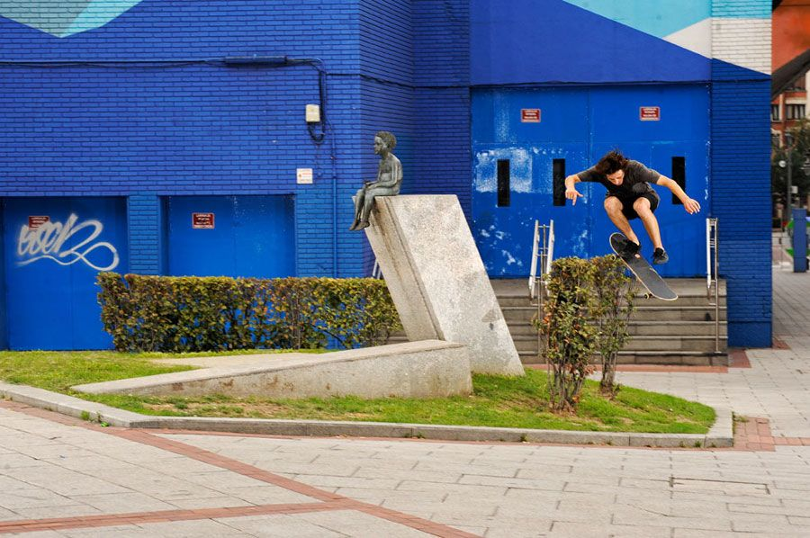 Jarne Verbrugen. Backside flip