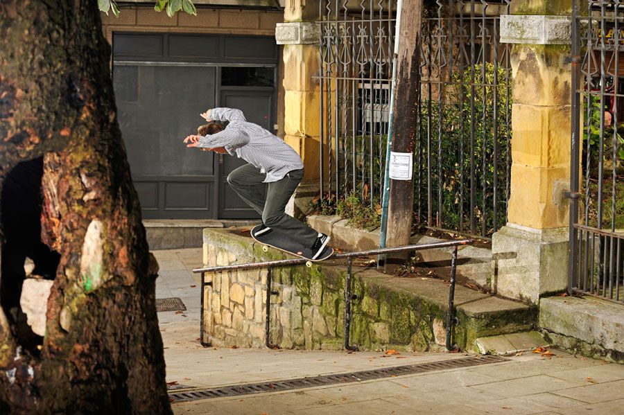 Karsten Kepplan. Back grind pop out #2