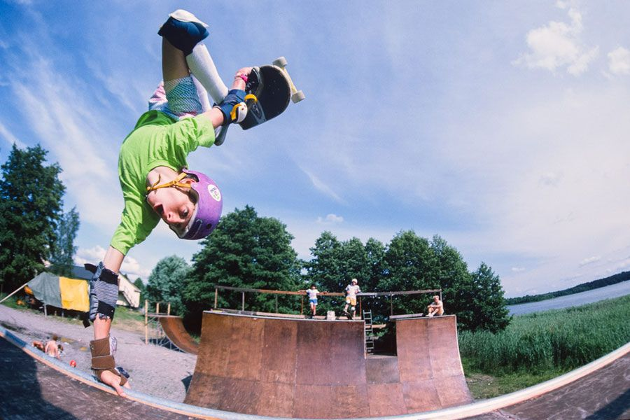 Tony Hawk, Swedish Summer Camp, 1985