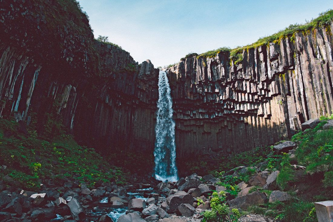 Tin Nguyen: Svartifoss, Iceland