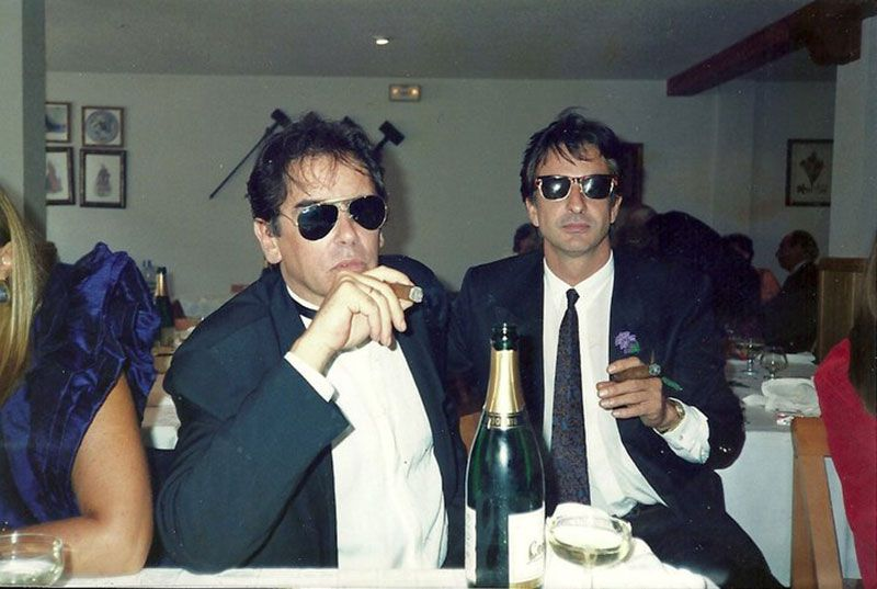 Javier Aracil y Manel Fiochi