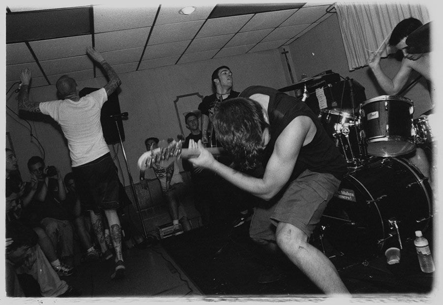 Converge, at the Knights of Columbus, Arlington Heights, IL 2002