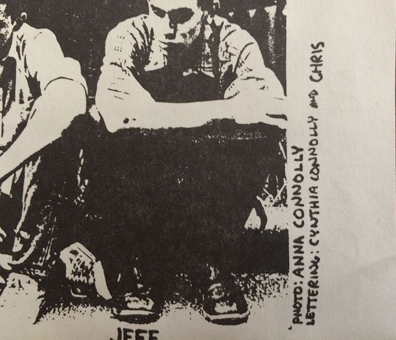 Minor Threat lyric sheet detail